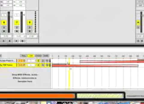 Velocity Crossfaded Arpeggio in Ableton Live
