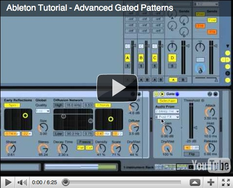 Ableton Tutorial – Rhythmic Gated Patterns