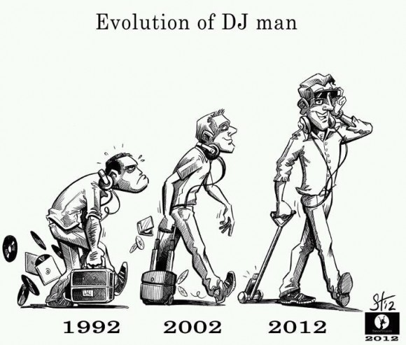 Evolutions of DJ Man