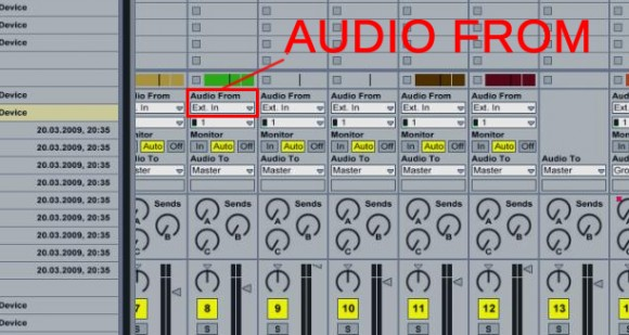 Ableton Audio From