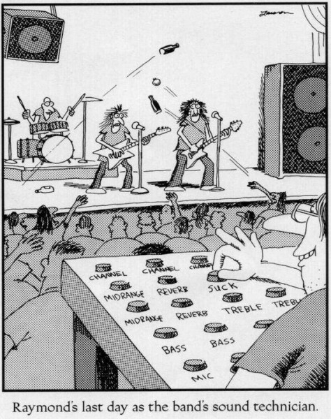 Bad Sound Guy Humor