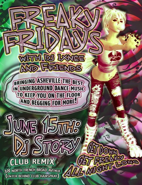 Freaky Fridays - June 15th: DJ Story