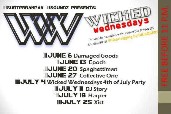 Wicked Wednesdays @ Club Remix in Asheville, NC
