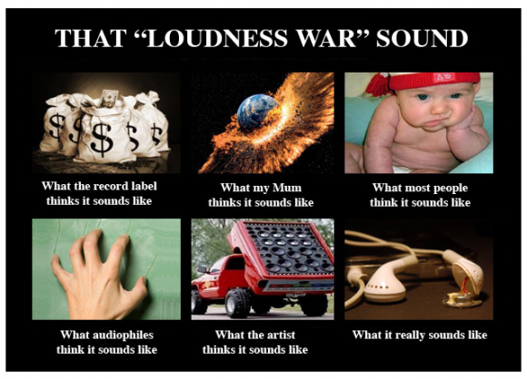 loudness war meme