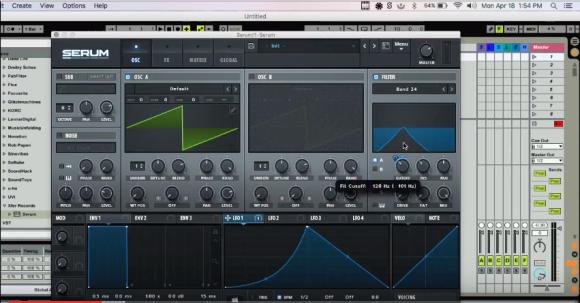 Serum Sound Design - Psydub Squelches