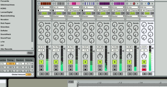 Making Beats in Ableton